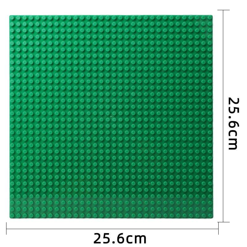 32*32 pontos clássicos placas de base tijolos de plástico baseplates cidade menina castelo educacional blocos de construção crianças brinquedos
