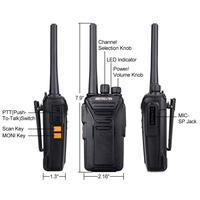 """מכשיר הקשר 2pcs Retevis RT27 מכשיר הקשר PMR רדיו PMR446 / FRS 0.5W / 2W VOX USB טעינה 2 תחנת רדיו דרך Portable מערבל מקמ""""ש (2)"""