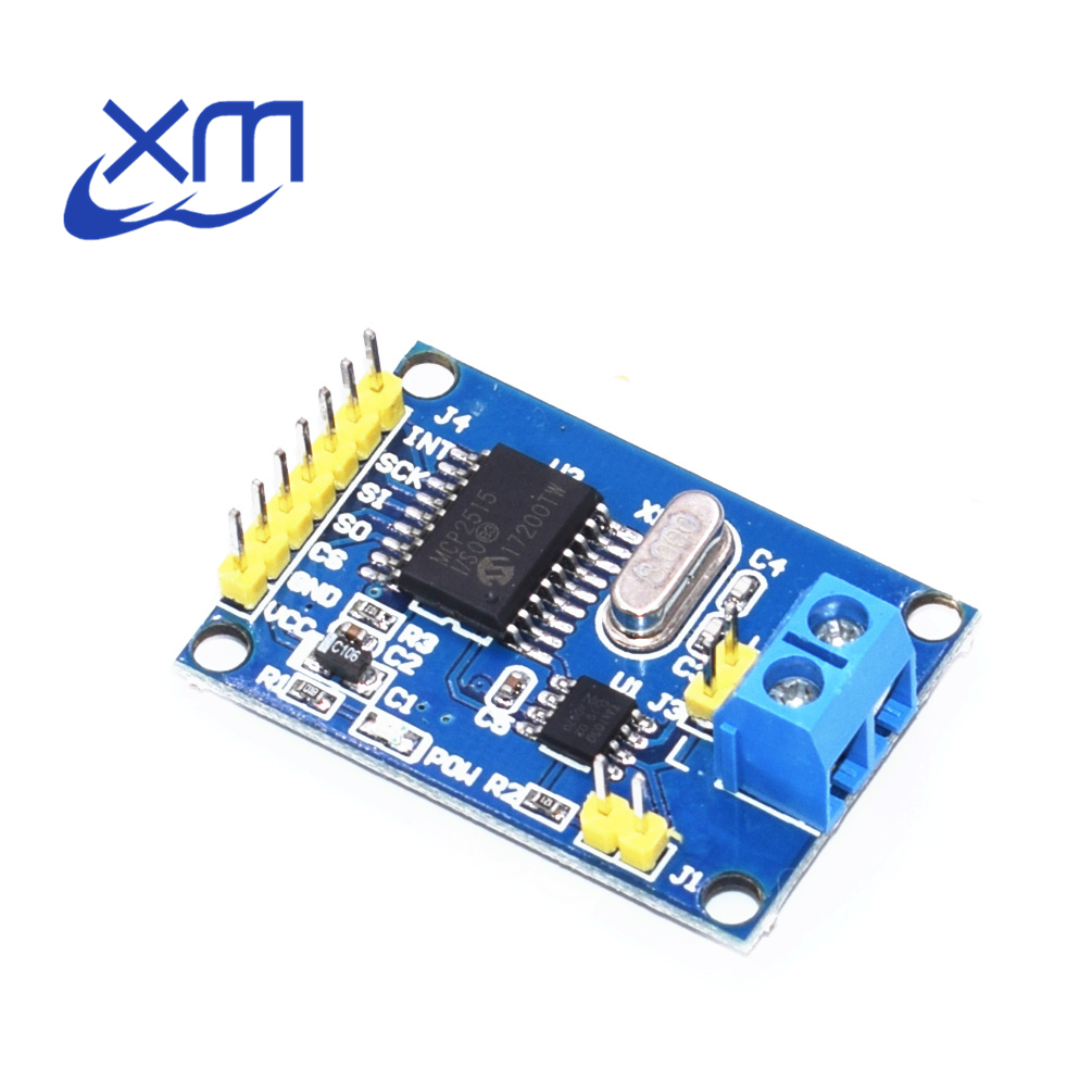 5pcs MCP2515 CAN Bus Module TJA1050 receiver SPI For 51 MCU ARM controller D71