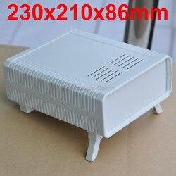 HQ instrumentación ABS proyecto caja, blanco, 230x210x86mm.