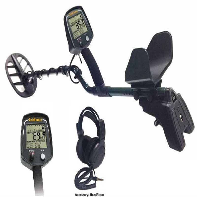 Professional Metal Detector GF2 Underground Metal Detector Gold High Sensitivity and LCD Display Gold Finder professional metal detector md3009ii underground metal detector gold high sensitivity and lcd display md 3009ii metal detector