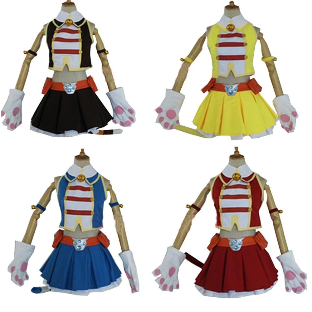 2018 My Hero Academia Boku No Hero Akademia Pussycats Ragdoll Cosplay Costume Custom Made Four Styles For Choosing