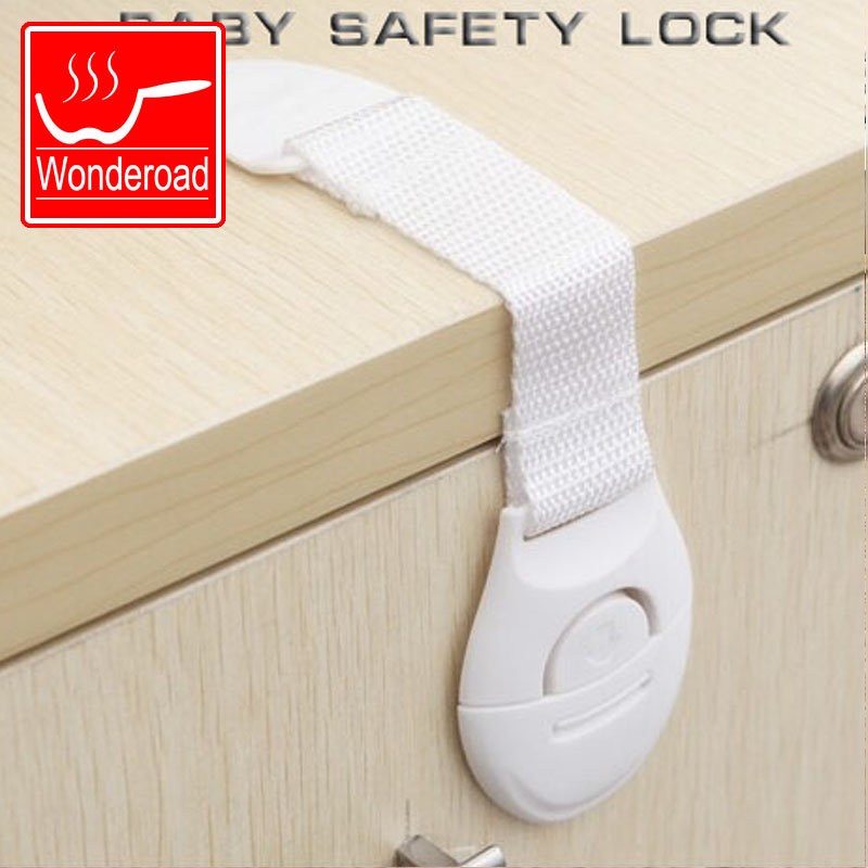Safety Lock For Kitchen Door Shoe Cabinet Book Drawer Household Furniture Security Kids Protecting Childen