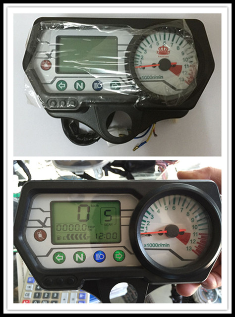 Motorcycle instrument CG125 CG150 LCD Meter Mechanical Watches