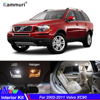 20pcs No Error Canbus White LED Car Interior Light Package Kit For 2002 2011 Volvo XC90 Reading Map Dome Trunk Door Plate Lights