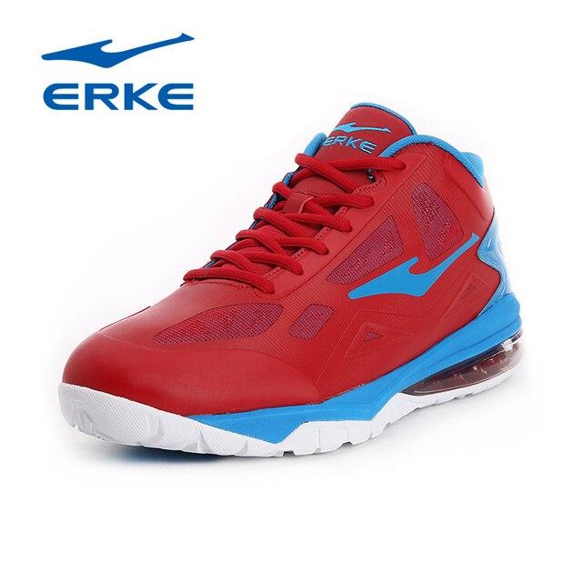 Ерке оригинальный Для мужчин профессиональной Баскетбольные кеды человек Высокая спортивная обувь traniers Спортивная обувь Zapatos де Baloncesto Кружево Up красный 2017