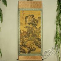 Antique collection Imitation ancient Tang Yin Landscape painting 3 diagram