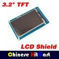 "1 pcs 3.2 ""ecrã a cores TFT módulo 320X480 ultra-fit HD para Mega2560 Arduino sem toque função # J251"