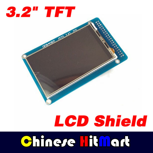 LCD display 3.2 TFT color screen module 240*320 ultra-HD fit Mega2560 module for Arduino Mega2560 without touch function #J251