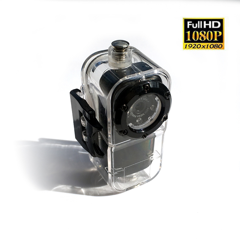 HD 1080p Night vision mini camera digital Metal shell with Waterproof case DV mini Camcorder for