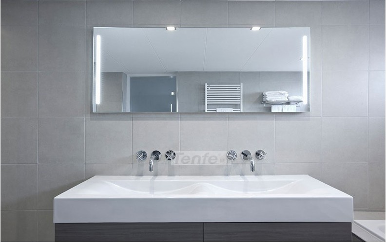 bathroom Wall Mounted Waterfall Faucet basin Mixer Tap Chrome Bathtub Faucet luxury great waterfall wall mounted bathroom basin sink bathtub polished chrome double handles mixer tap faucet mf 828