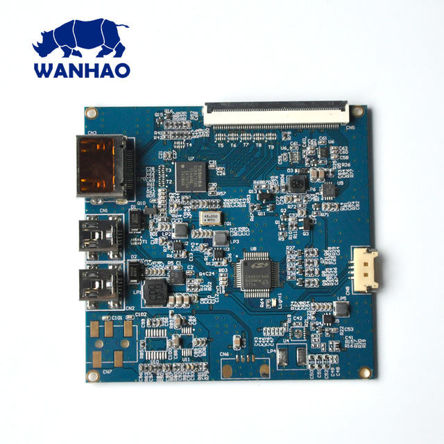 WANHAO factory for sell 3D Printer Spare Parts mother board / main board for D7 V1.3/ V1.4 / D7 V1.5 цена