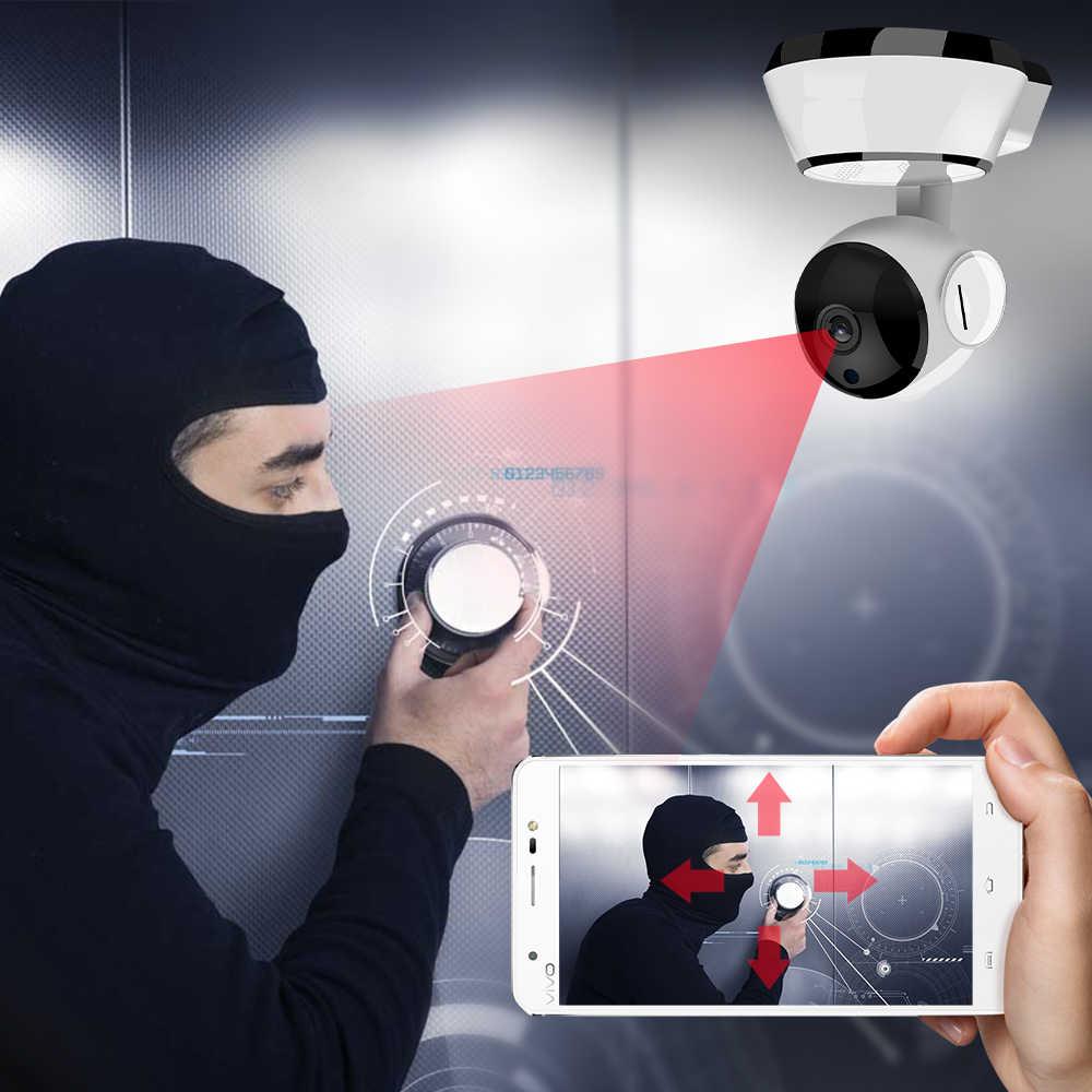 Wifi ip-камера 720p Беспроводная ip-камера внутренняя безопасность жилища камера наблюдения s ночного видения Wifi CCTV Ip Cam CM. V8