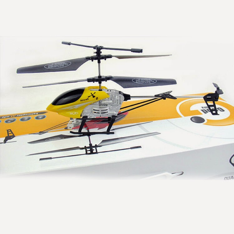 Durable Remote Control Aircraft Toy Alloy Helicopter Model Plaything