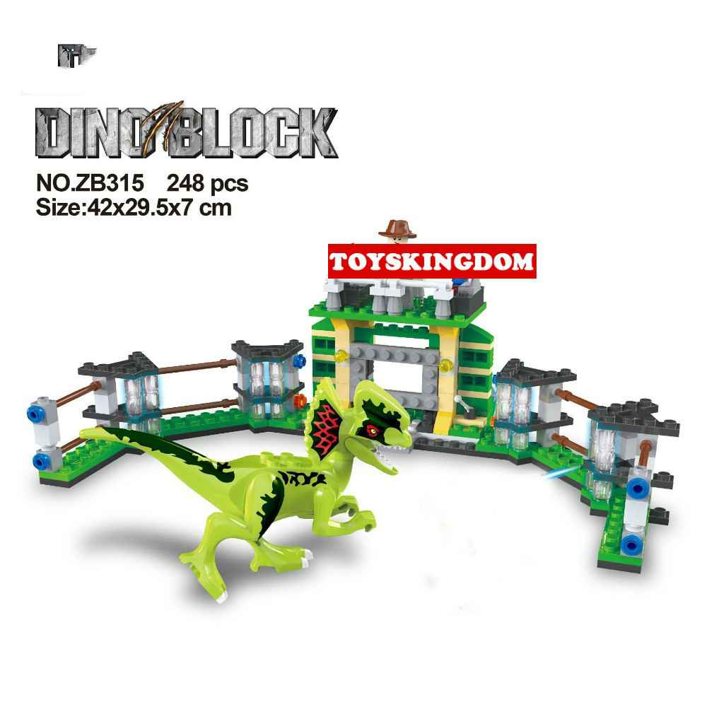 Hot Jurassic World Dinosaur Park Dilophosaurus Training Base Lepins Building Block Trainer Figures Bricks Toys for Kids Gifts hot city series aviation private aircraft lepins building block crew passenger figures airplane cars bricks toys for kids gifts