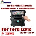For Ford Edge 2011~2014 Car Android GPS Navigation DVD Player Radio Stereo AMP BT USB SD AUX WIFI HD Screen Multimedia