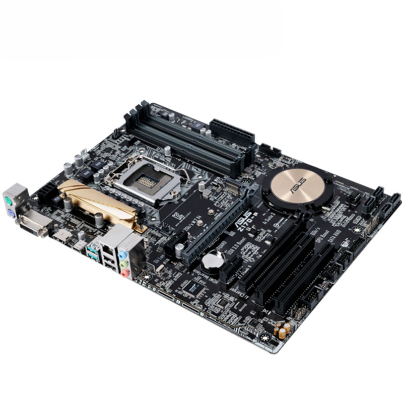 US $108 76 |ASUS Z170 P motherboard LGA1151 Masters Series price plate DDR4  1151 support E3 V5 CPU used 90%new-in Motherboards from Computer & Office