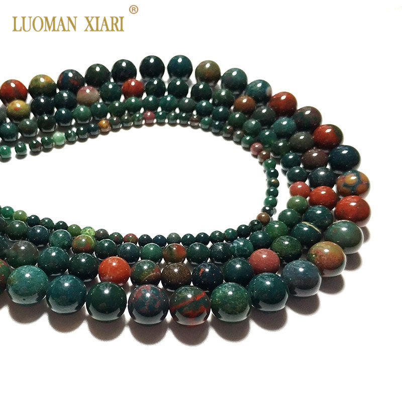 Charm Agate Beads Bracelet Prayer chain CHICKEN BLOOD