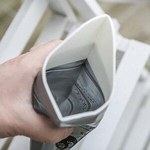 Image 2 - Открытый 4 шт./пакет Портативный носить для женщин мужчин саквояж для мочи мешок в аптечка первой комплект мини Туалет мочиться сумки