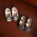 2017 venta caliente de la muchacha shoes shoes shoes de cuero de cuero verdadero de calidad superior para gilrs 1-3 años niño's shoes