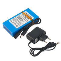 AIMIHUO DC 12V lithium battery 6800mAh battery polymer battery monitor motor LED outdoor standby power supply