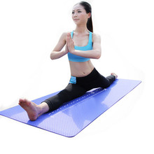Durable 6mm Thick Yoga Mat TPE Environmental Non-slip Folding Gym Fitness Lose Weight Exercise Pilates Mat For Bodybuilding