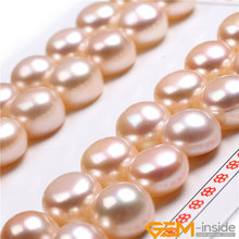 AAA Grade 11mm – 1/2 11mm Natural Freshwater Cultured Pearls Half Drilling Earrings 16 Pairs For Earrings Stud Jewelry Making