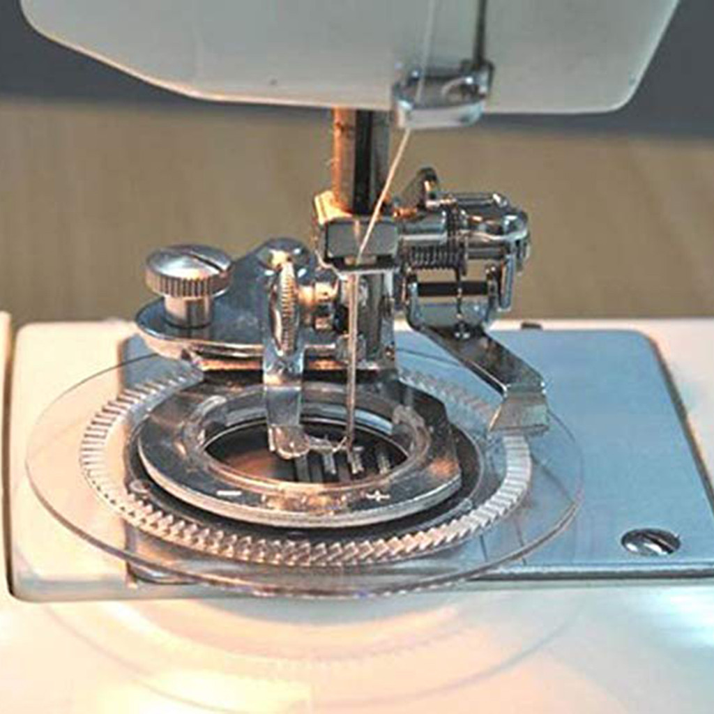 Round Stitch Presser Foot Flower Embroidery Foot For Singer Janome Brother Feet