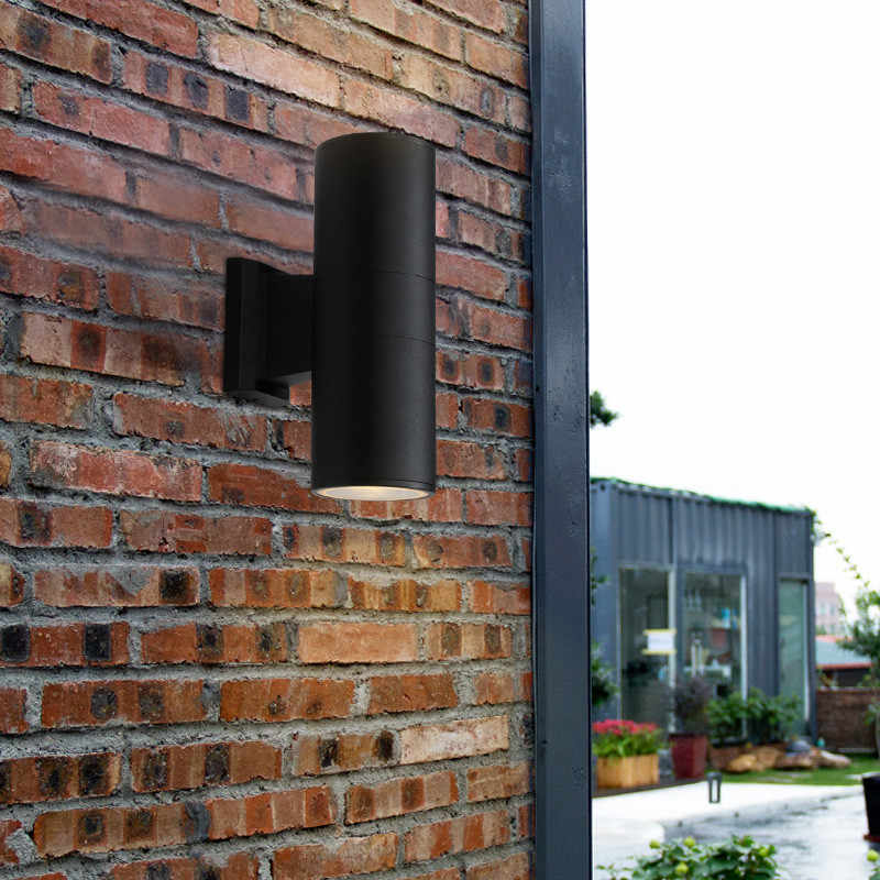 Indoor&Outdoor Lighting Waterproof IP65 20W 30W COB LED Wall Lamps up&down Porch Corridor Garden Yard Spotlight Aluminum