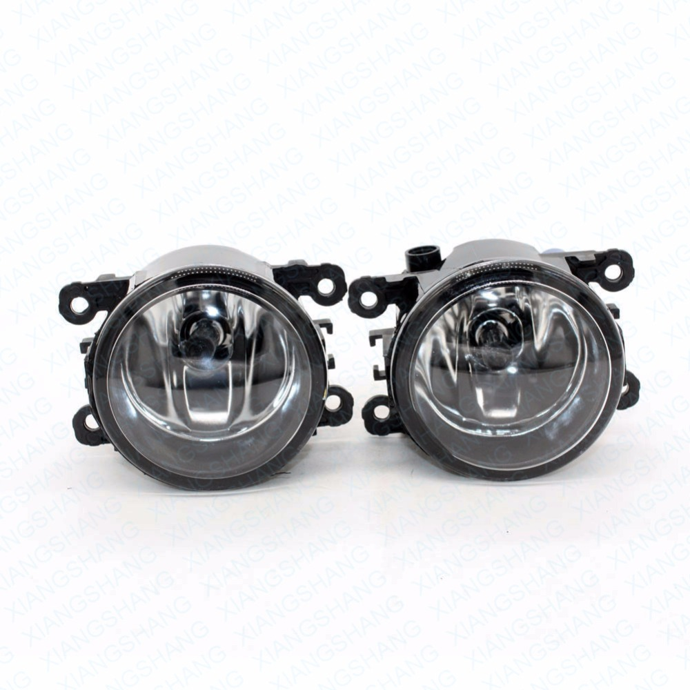 Front Fog Lights For DACIA LOGAN EXPRESS Box FS 2009-15 Auto Right/Left Lamp Car Styling H11 Halogen Light 12V 55W Bulb Assembly front fog lights for nissan qashqai 2007 2008 2009 2010 2011 2012 2013 auto bumper lamp h11 halogen car styling light bulb