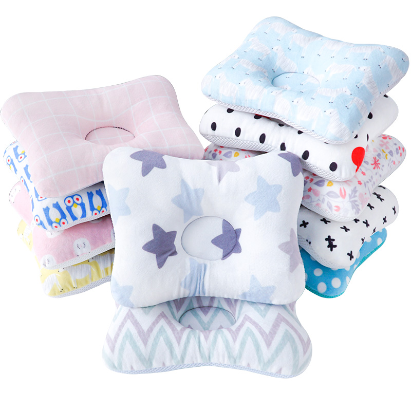 Head Protection Baby Cartoon Pillow Bedding Sleep