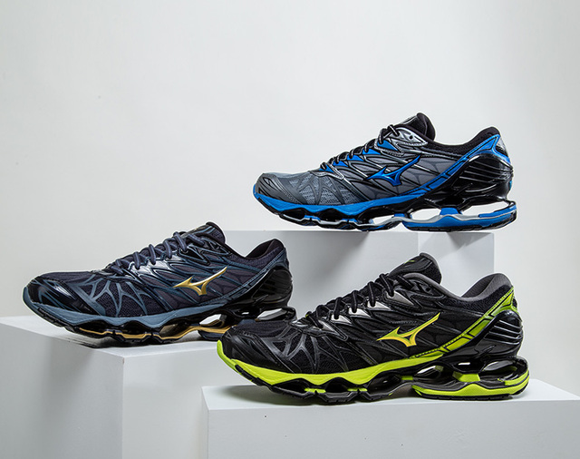 c54ae65d386bc Original Mizuno Wave Prophecy 7 Professional Men Shoes Sneakers Outdoor  Sport Weightlifting Shoes Zapatos De Hombre size 40-45