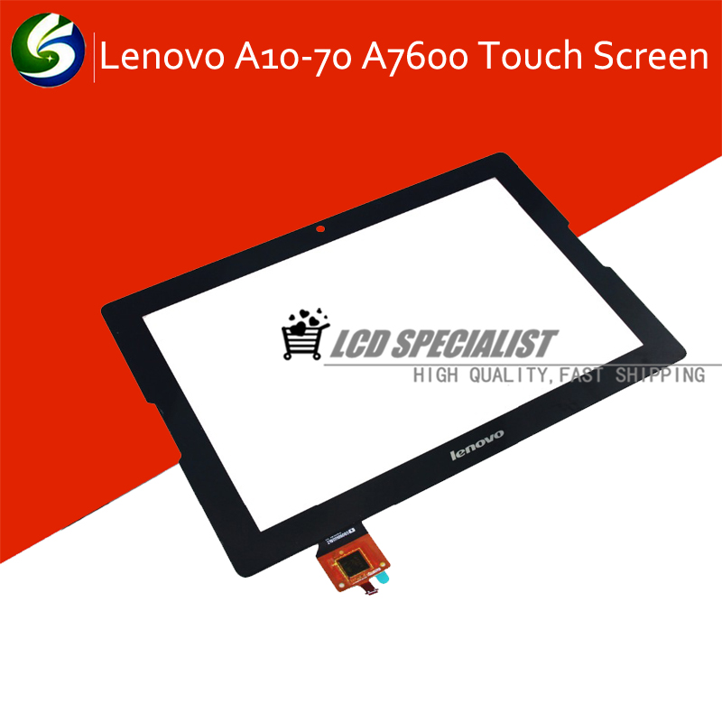 Black New 10.1'' Inch for Lenovo A10-70 A7600 B0474 T Touch Screen Digitizer Glass Sensor Repairment Parts