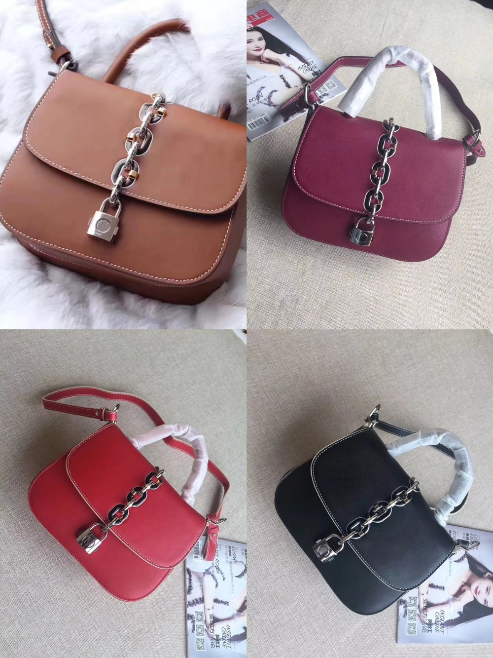 free shipping New retro chain shoulder bag leather small square bag fashion lock her portable leisure small round female bagfree shipping New retro chain shoulder bag leather small square bag fashion lock her portable leisure small round female bag