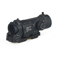 New Arrival 4x Fixed Dual Tactical Compact Rifle Scope For Hunting CL1 0058BK