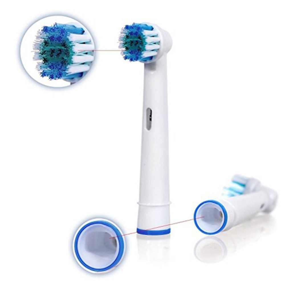 4 PC têtes de brosse de rechange Pour Brosse À Dents Électrique Oral Fit Puissance Pro Santé Triomphe 3D Excel Vitality Precision Clean EB17