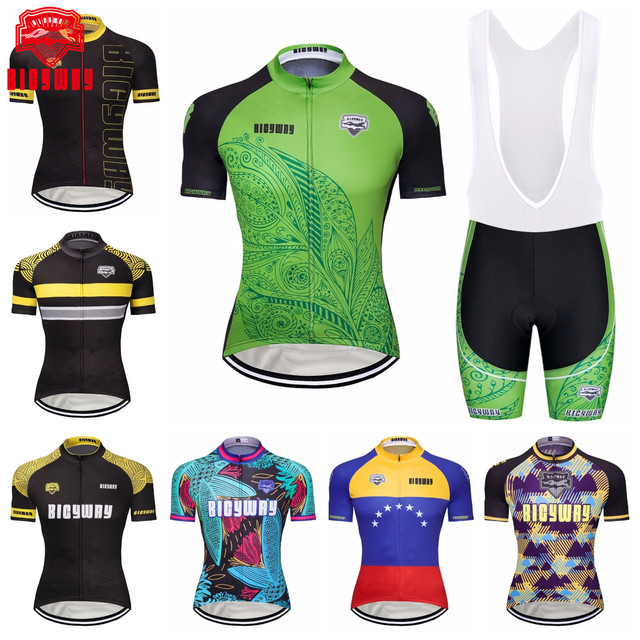 1c779a5b4 Bicyway 100% breathable Cycling jersey 2018 bicycle ropa ciclismo bike  sport men cycling clothing short sleeve maillot ciclismo