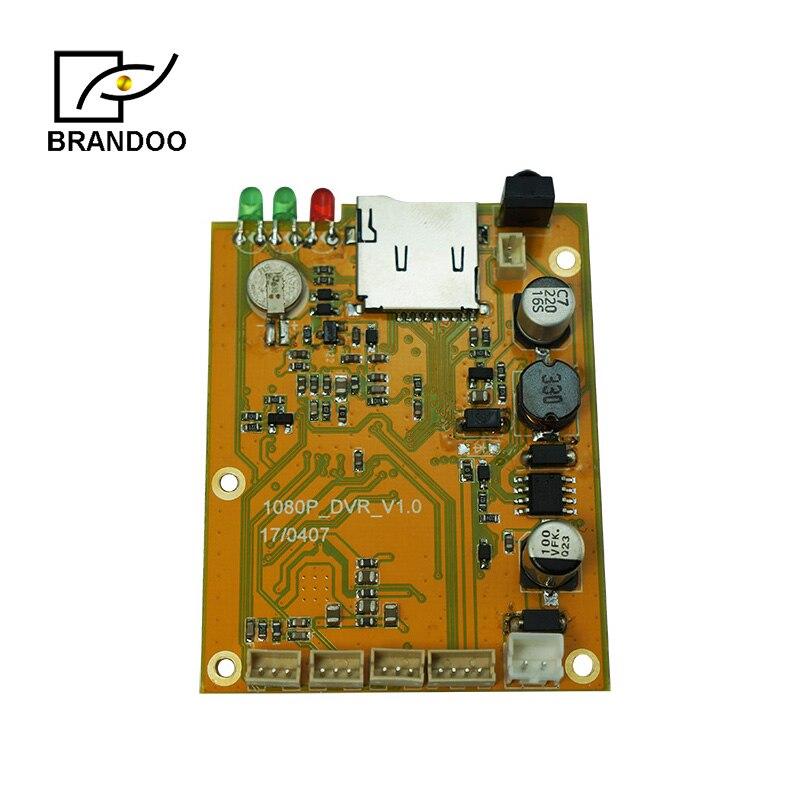 Mini Gravador de Vídeo módulo bordo, usado para Hand-held detectores de metal, câmera de drenagem