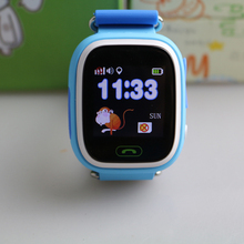 Child Smart Watch Q90 GPS Tracker Watch Location Finder Device with Touch Screen Wifi Kids Wristwatch Support 2G SIM SOS Call