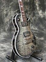 Custom shop, ручная работа 6 укусы LP Стандартный заказ электрогитара, поддержка настройки. Guitarra,