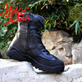 Men Black Tactical Boots Outdoor Shoes Military Desert Combat Boots Waterproof Breathable Wearable Boots Hiking Riding Climbing