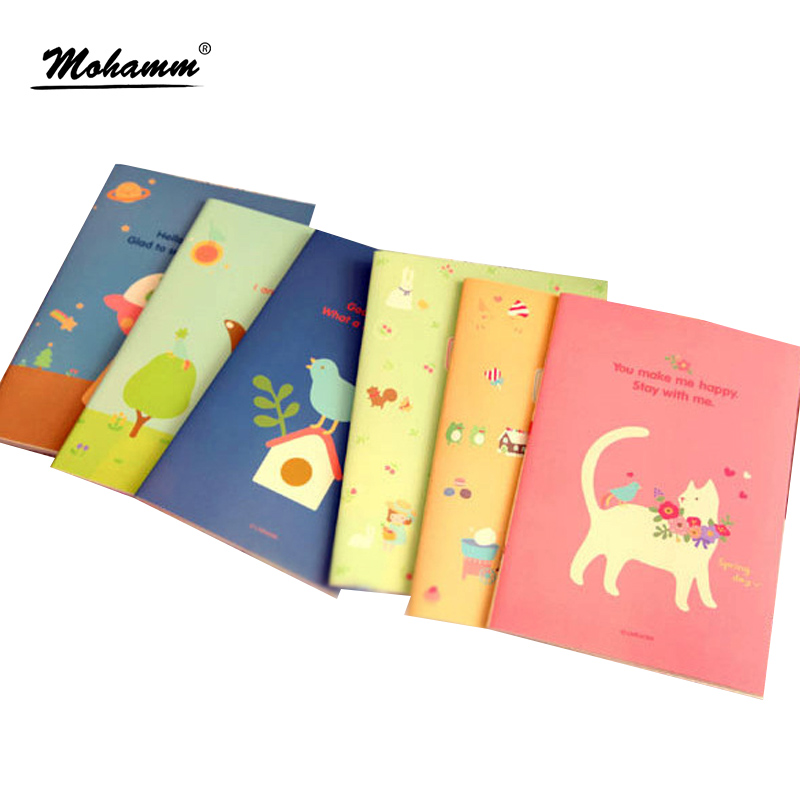 A5 Travelers Cute Animal Planner Copybook Diary Paper Note Book Notebook School Office Supplies Stationary 21 x 14cm