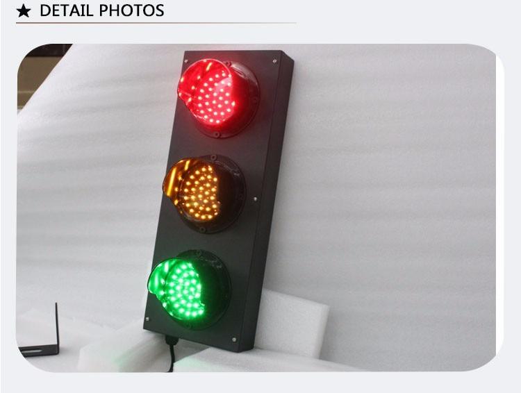 Mini stal nierdzewna 100 mm AC 85-265 V Czerwona żółta zielona - Bezpieczeństwo i ochrona - Zdjęcie 3