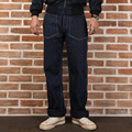 New arrival 2016 non stock loose stripe denim pants mans stripe casual long trousers