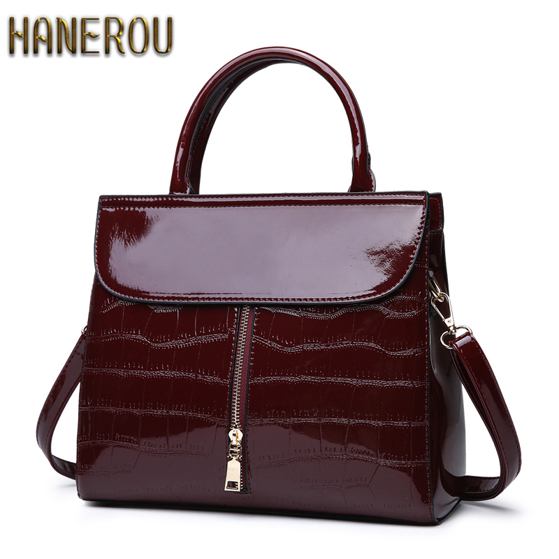 2019 New Women Chain Handbags Leather Casual Women Big Tote Brand Ladies Shoulder Bags Female Messenger Bags