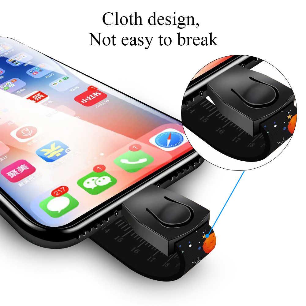 Ascromy かわいい携帯電話 Huawei 社 P20 プロ Lite のため Xiaomi Pocophone F1 apple の iphone 7 プラス 8 XS ネック手首ストラップケーブルブレスレット