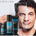 Anti Aging Daily Skincare Set For Men 3pcs Cleanser Toner Cream Moisturizing Oil-control Shrink Pores Anti Wrinkle Men Face Care