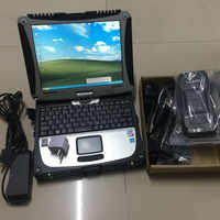 heavy duty truck scanner for volvo vcads pro software with laptop cf-19 touchscreen ready to use 2 years warranty