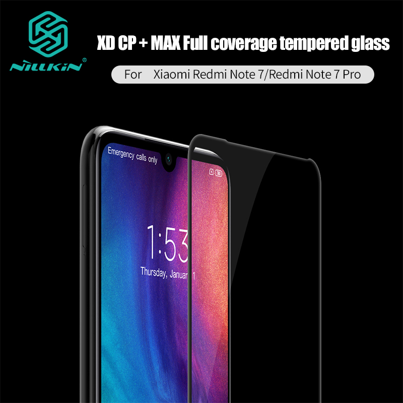 Redmi Note 7 Glass NILLKIN XD+ anti glare Screen Protector For Xiaomi Redmi Note 7 Pro 3D Safety Protective Tempered Glass 6.3Redmi Note 7 Glass NILLKIN XD+ anti glare Screen Protector For Xiaomi Redmi Note 7 Pro 3D Safety Protective Tempered Glass 6.3