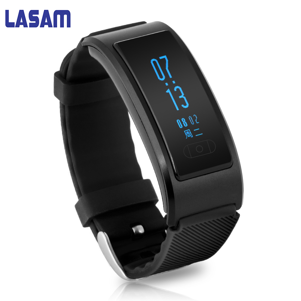 In Stock Black Smart Sport Band Bluetooth Bracelet Pedometer Smart Fitness Tracker Smartband Wristband watch For